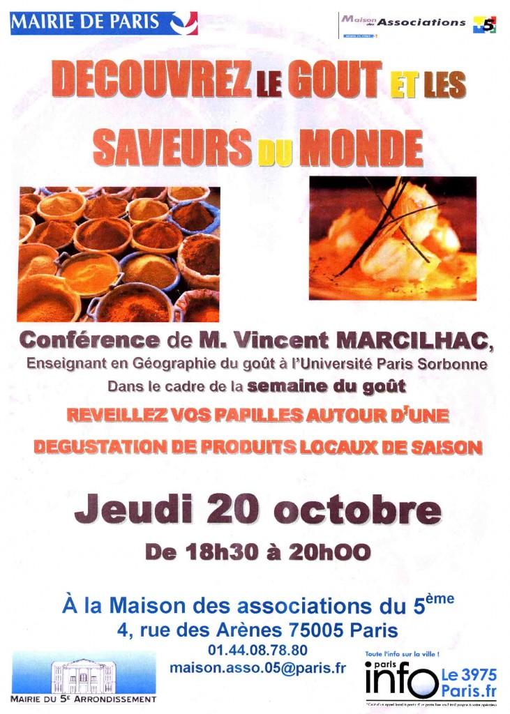 Journée du goût à la maison des associations du 5e arrondissement