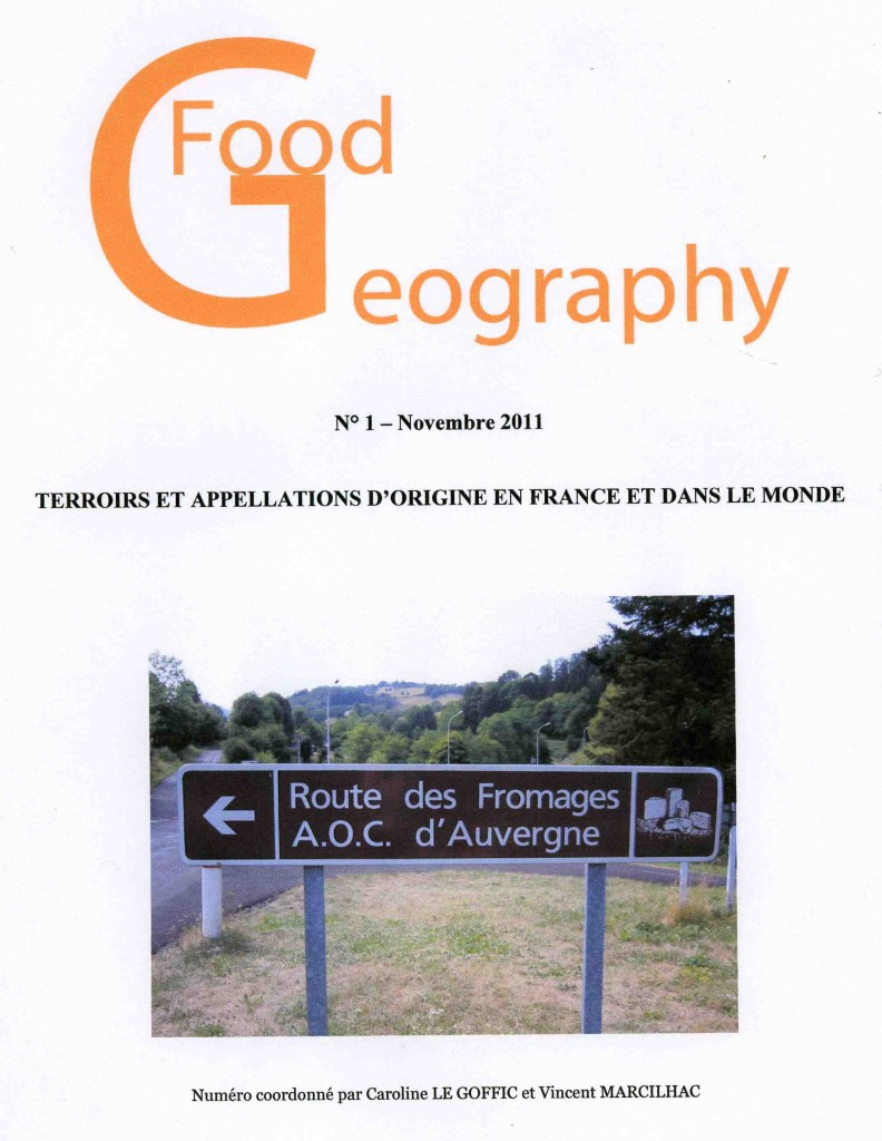Food Geography n° 1