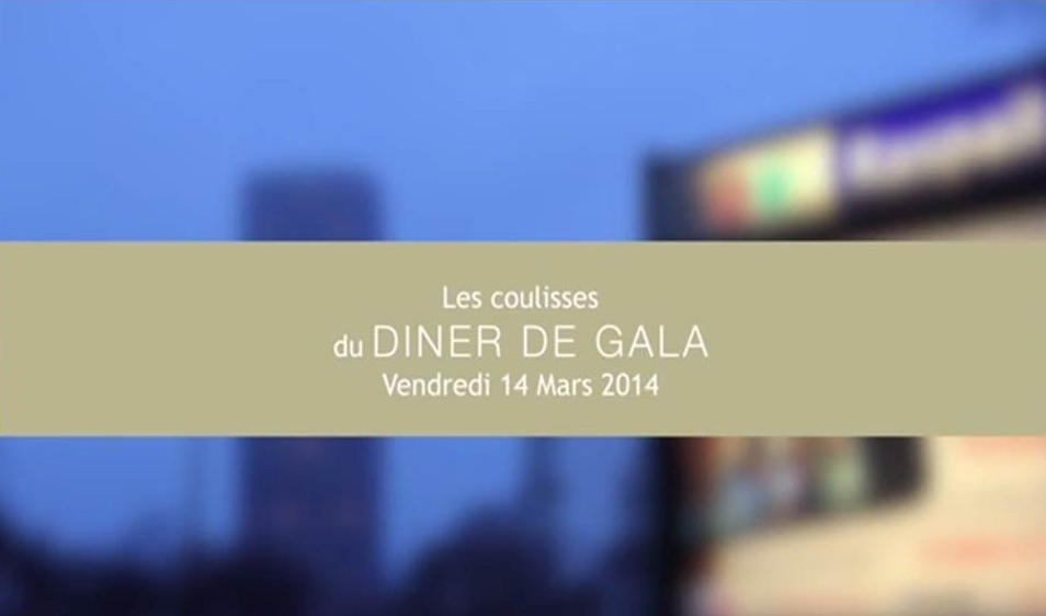 Dîner de gala organisé au sein du Pôle Universitaire de Gastronomie au Lycée des métiers de l'hôtellerie Guillaume Tirel à Paris