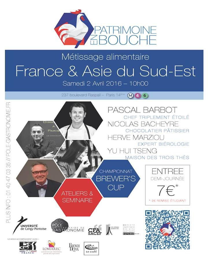 Les étudiants du Pôle Universitaire de Gastronomie organisent un événement exceptionnel le 2 avril prochain